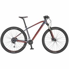 Велосипед SCOTT ASPECT 740 сірий/червоний 2020