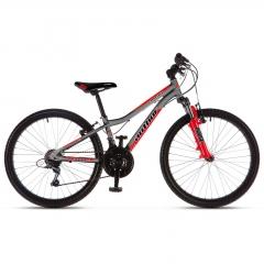 Підлітковий велосипед Author A-MATRIX 24 2018, сіро-червоний