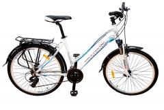 Велосипед жіночий Mascotte City Like 26'' білий