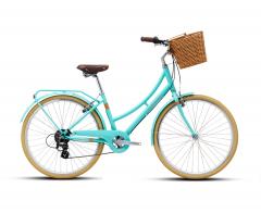 """Велосипед Polygon OOSTEN 26"""", 43 см (2021) бірюзовий"""