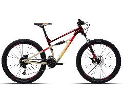 Велосипед Polygon Siskiu D5 27,5 червоний сірий (2021)