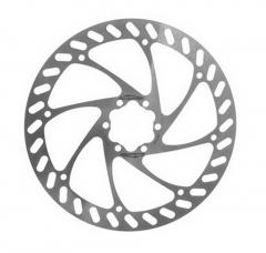 Ротор Alligator Pizza 160 мм під 6 болтів сріблястий
