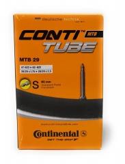 "Шосейна камера Continental Race Presta Extra Long Valve 60mm 700c Inner Tube - Black, 28"""
