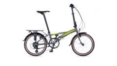 Велосипед AUTHOR (2021) Simplex рама M колір - сріблястий-салатовий